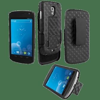 Verizon Galaxy Nexus Shell and Holster
