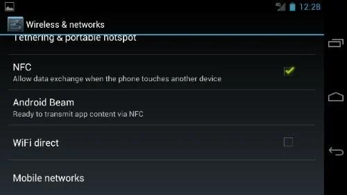 Turn off 4G LTE on Galaxy nexus Step 3