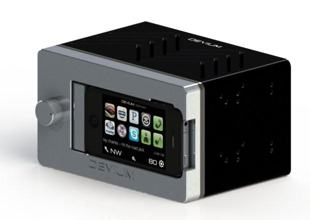 Dash iPhone car stereo