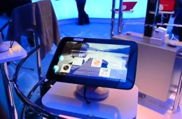 Intel Medfield Android Tablet Hands On at CES 2012 - YouTube
