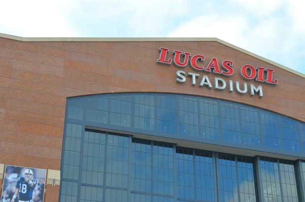Lucas Oil Stadium Verizon 4G LTE Super Bowl 46