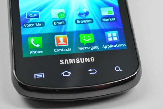 Samsung Stratosphere Review - TouchWiz
