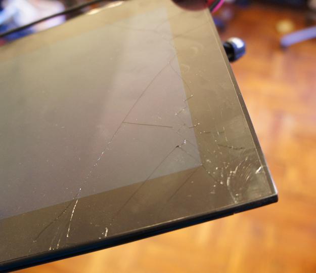 iBallz Grid10 Cracked Screen
