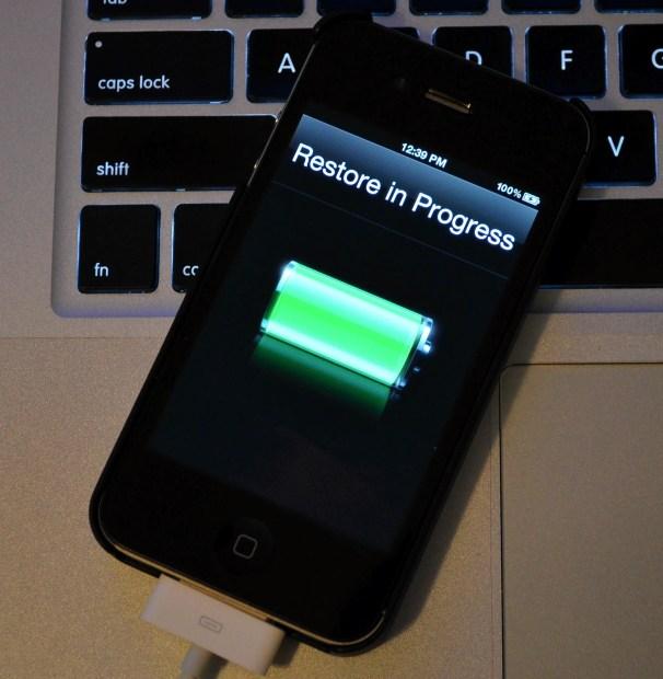 iPhone 4S Restore during jailbreak