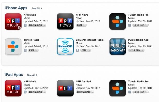 Apps in App Store