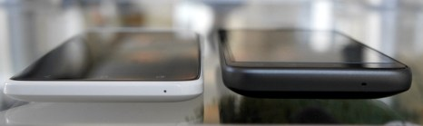 HTC One X and HTC Thunderbolt