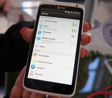 HTC One X - HTC Sense 4.0 Settings