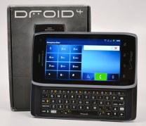 Droid 4 Review Landscape with Box
