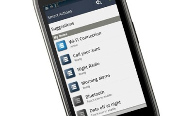 Droid Razr Maxx and Smart Actions
