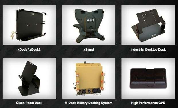 Enterprise tablet accessories