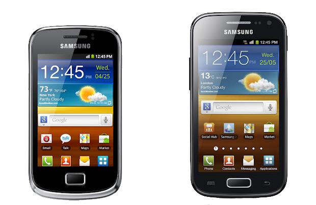 Galaxy Mini 2 and Ace 2