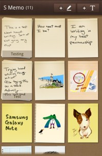 Galaxy Note S Memo
