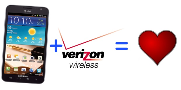 Many Hope The Galaxy Note Comes To Verizon