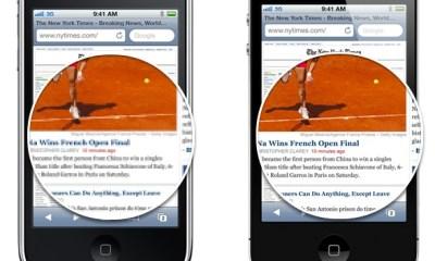 Retina Display vs iPhone 3GS