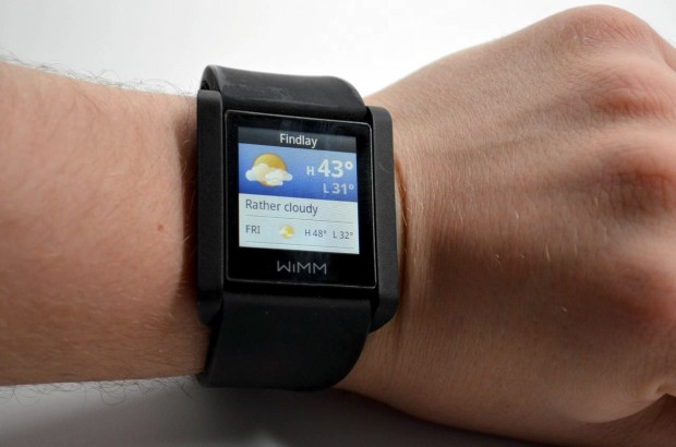 Smart Watch WIMM - Check Weather