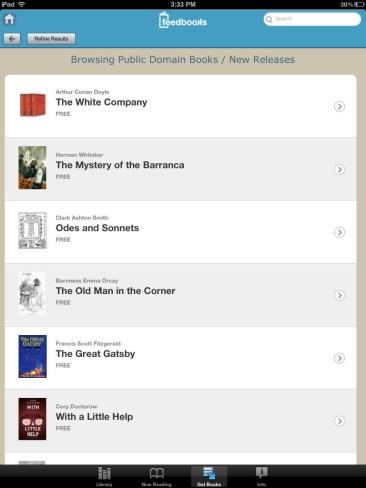 Bluefire Reader - Feedbooks Store