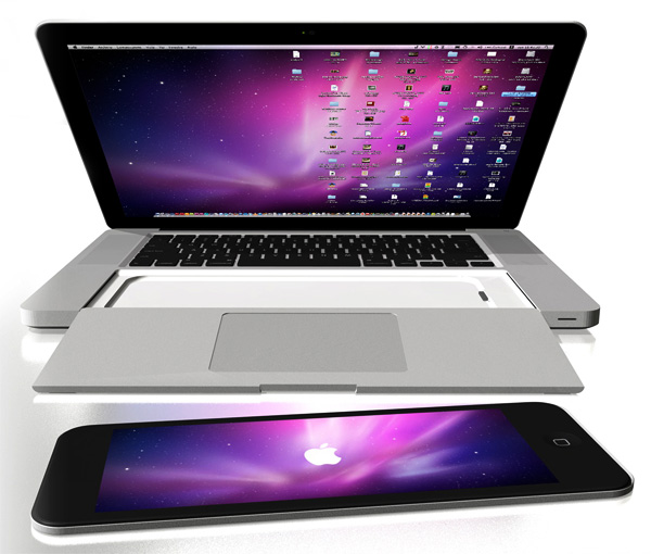 Magic MacBook Pro by Yanko Designs