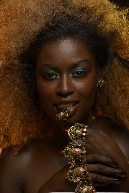 Nikon D800 sample image, photo of model with jewelry