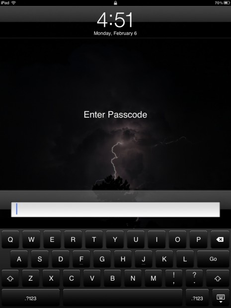 How to Secure Your iPad With a Complex Passcode
