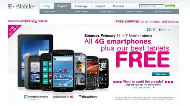 T-Mobile Sale