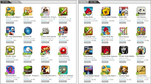 Android Market Games Portal