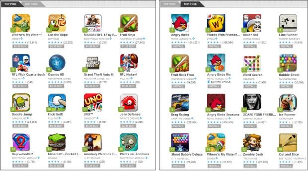 Android Market Games Portal