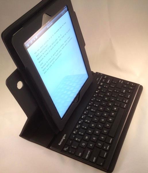 kensington keyfolio pro bluetooth keyboard case