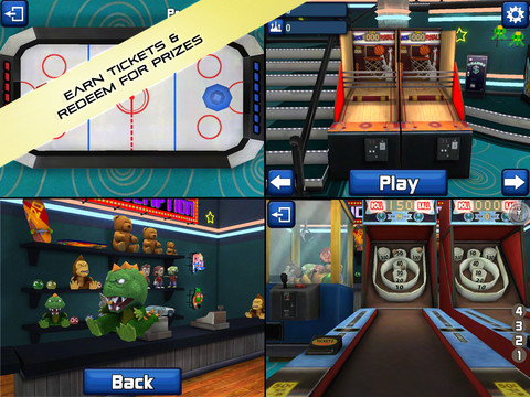 Play classic arcade games on your iPad and iPhone.