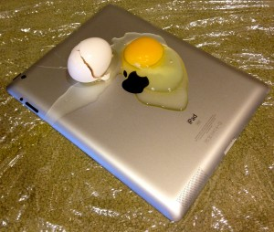 New iPad Fry an Egg