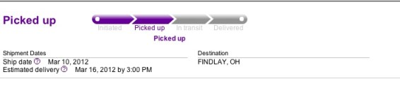 New iPad shipping status