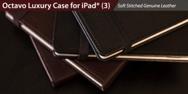 Octavo Luxury new iPad case