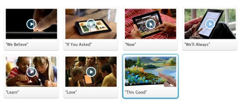 new iPad videos