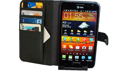 Valentinus Leather Wallet Case for the Galaxy Note