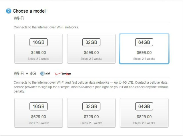 New iPad Shipping Dates Slip to 2-3 Weeks