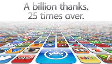 25 Billion iOS Apps Downloaded from iTunes