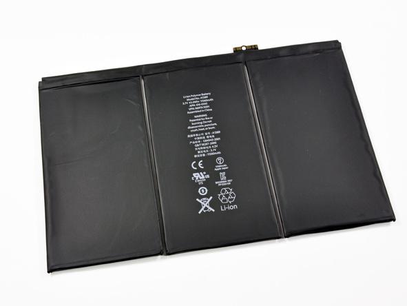 New iPad Teardown Reveals Massive Battery