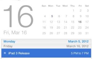 iPad HD Release Date