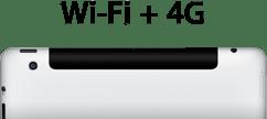 new ipad 4G LTE specs