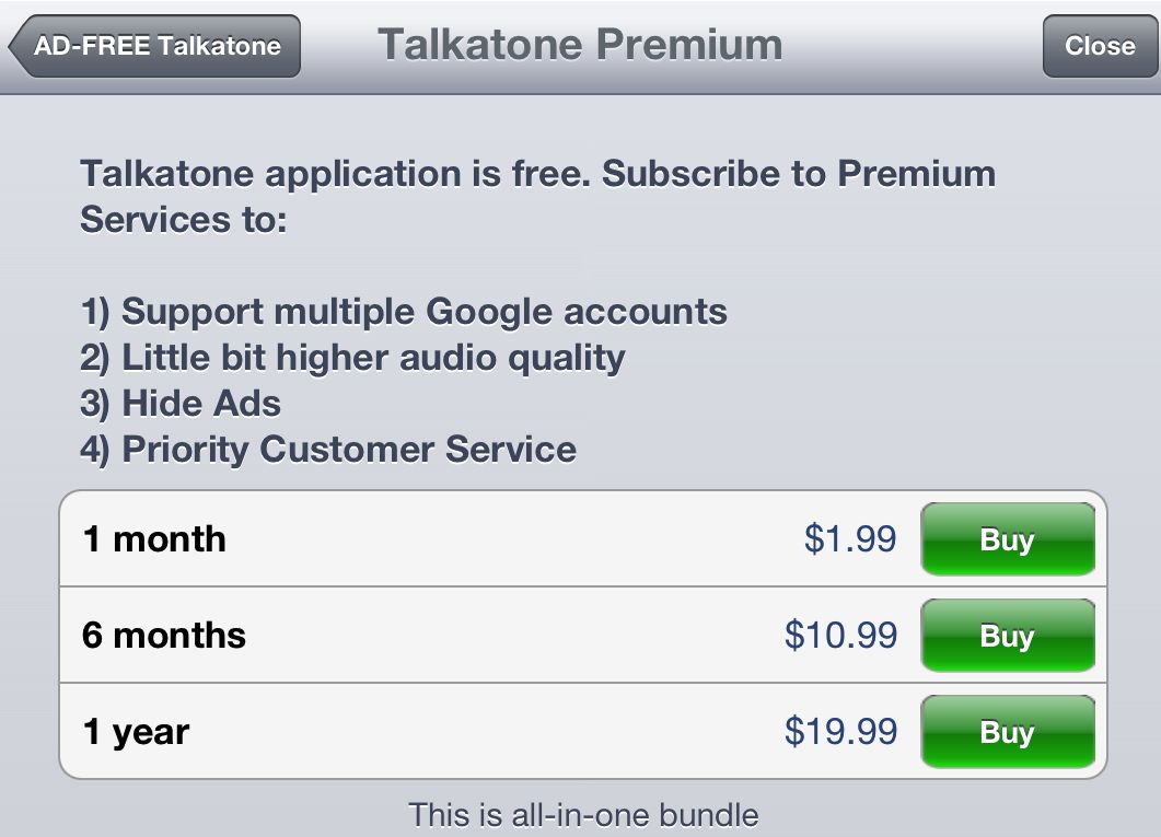 Make Calls From Your iPad With Talkatone
