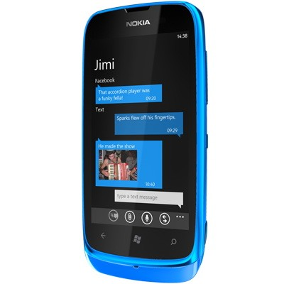 Nokia Unveils NFC-Powered Lumia 610