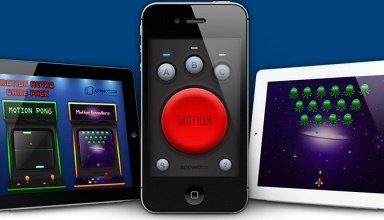 AppMotion Uses iPhone and iPod Touch As Motion Controllers for iPad