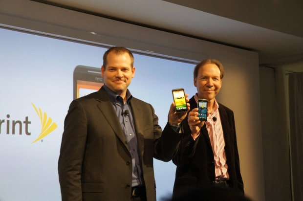 Sprint Unveils the HTC EVO 4G LTE