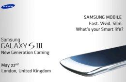 Galxy S 3 invite