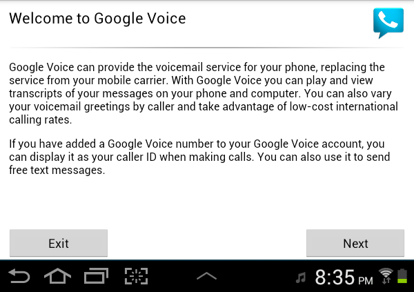 How To Use Google Voice With Android Tablets And Media Players