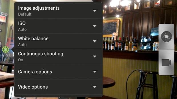 HTC One S - Camera Screen
