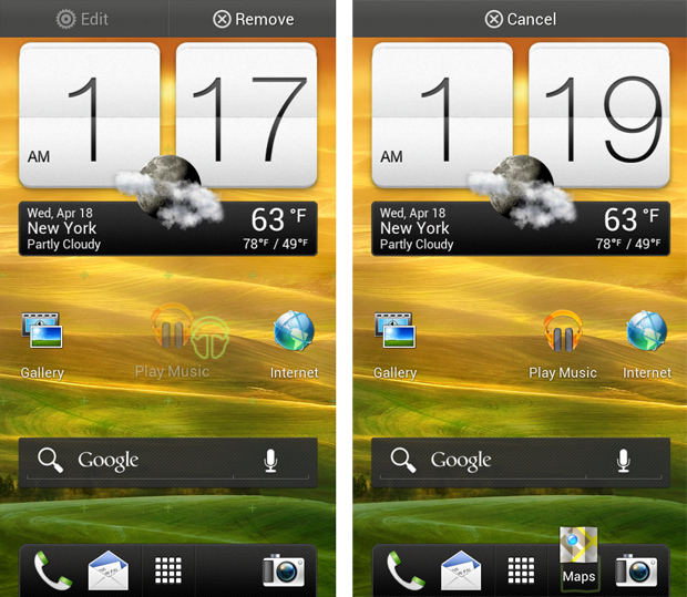 Home Screen and launcher