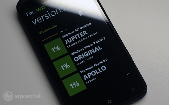 Windows Phone 8 I'm A WP7