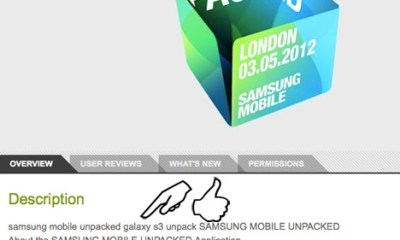 Samsung Galaxy S III Release Date and Rumor Roundup