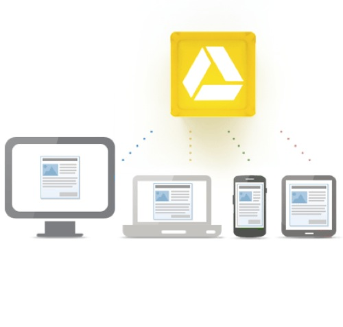Google Drive will work with multiple devices