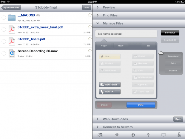 iOS 6 iPhone iPad File Explorer